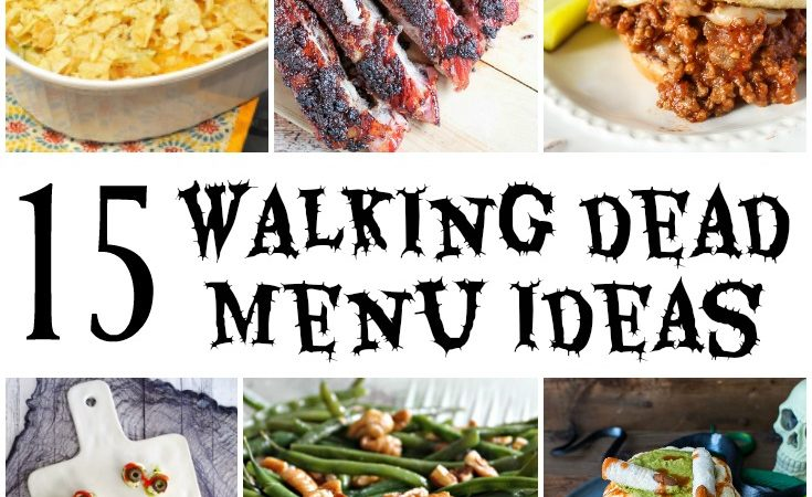 15 Walking Dead Party Menu Ideas – Merry Monday Link Party #177