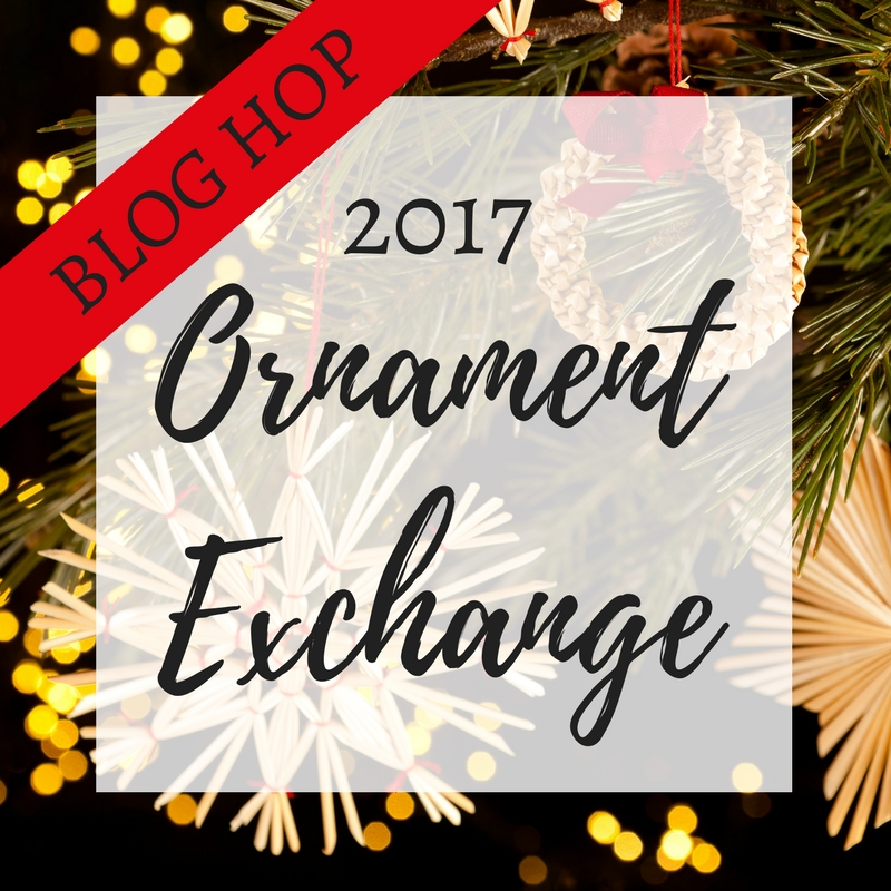 If you love Christmas Music, you'll love these Christmas Song Chalkboard Ornaments. Get a free printable to make your own easy DIY craft. Ornament Exchange. 2017 Ornament Exchange and Blog Hop