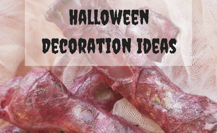 8 simple gruesome Halloween Decoration Ideas