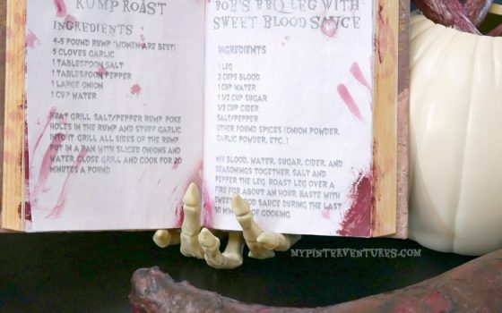 FREE Halloween Cannibal Recipe Printables – Walking Dead Terminus Cookbook
