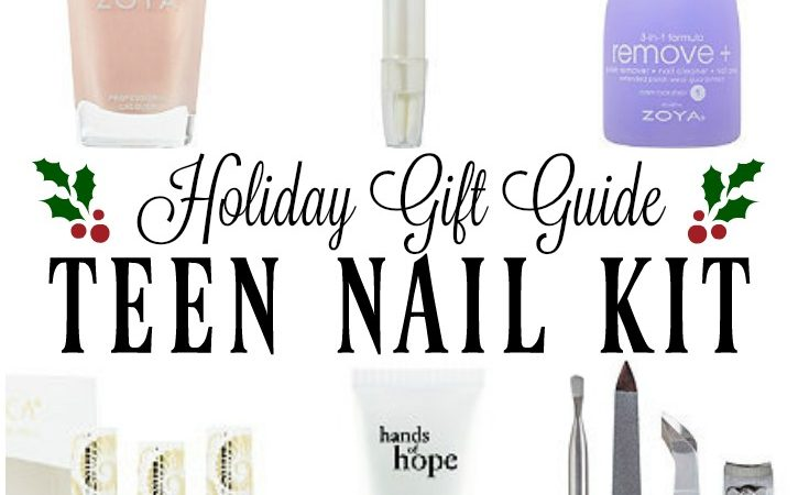 Teen Nail Kit - Holiday Gift Guide & Stocking Stuffer Ideas
