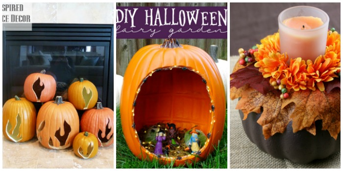 20 Clever Ways to Decorate Faux Pumpkins
