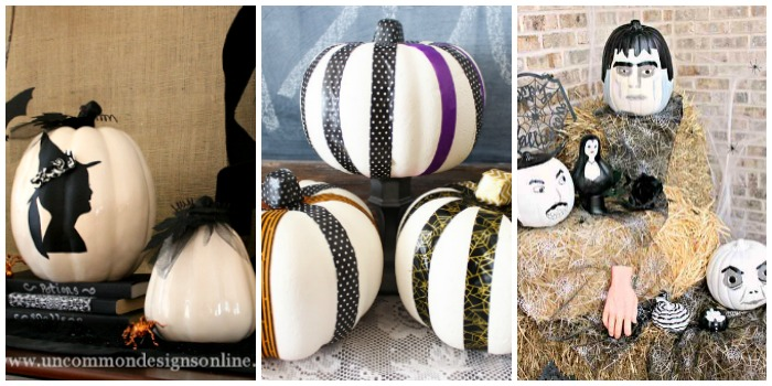 20+ Clever Ways to Decorate Faux Pumpkins