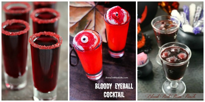 Walking Dead Party Menu Ideas - drinks