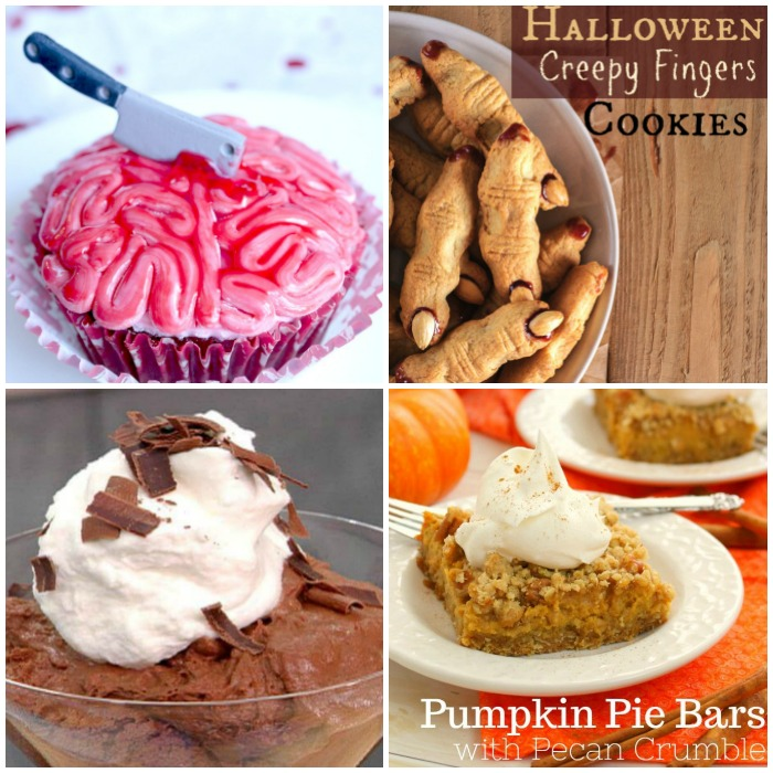Walking Dead Party Menu Ideas -desserts