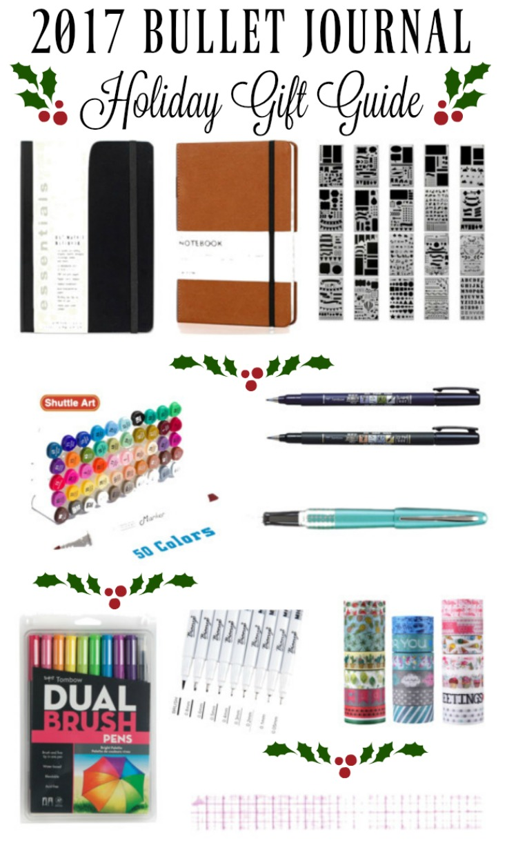 2017 Bullet Journal Holiday Gift Guide