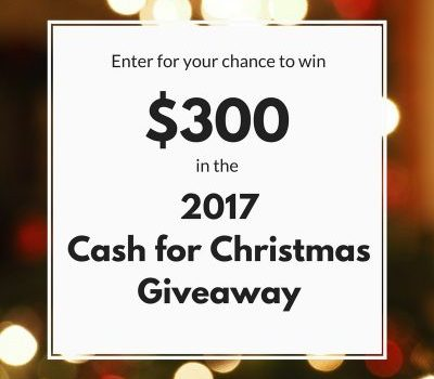2017 Cash for Christmas Giveaway!