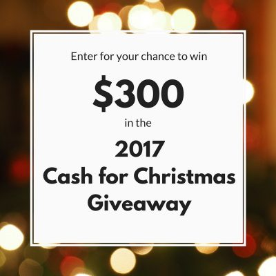 2017 Cash for Christmas Giveaway