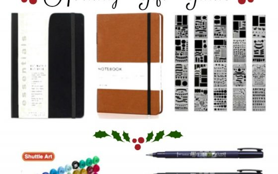 2017 Bullet Journal Holiday Gift Guide for Teens & Young Adults