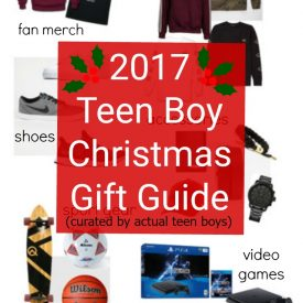 2017 Teen Boy Christmas Gift Guide – Curated by Actual Teenagers