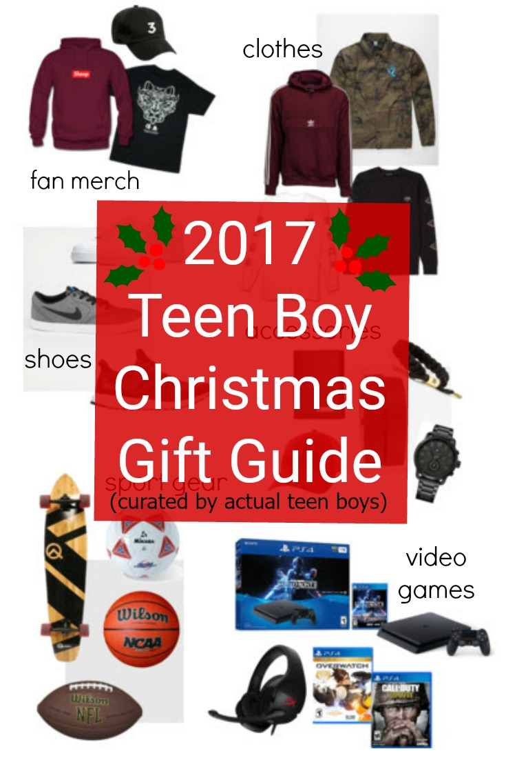 Teen Boy Christmas.2017 Teen Boy Christmas Gift Guide Chosen By Real