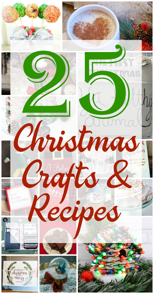 25 Days of Christmas Movies Crafts & Recipes