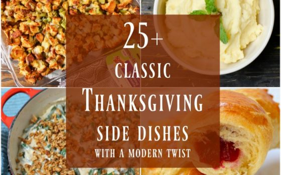 Thanksgiving Side Dishes – Merry Monday Link Party #181