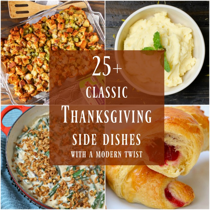 25+ Classic Thanksgiving Side Dishes with a Modern Twist