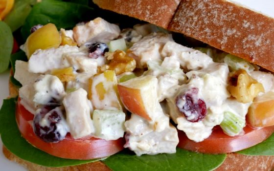 Simple Turkey Salad Sandwiches – Leftover Turkey Meal