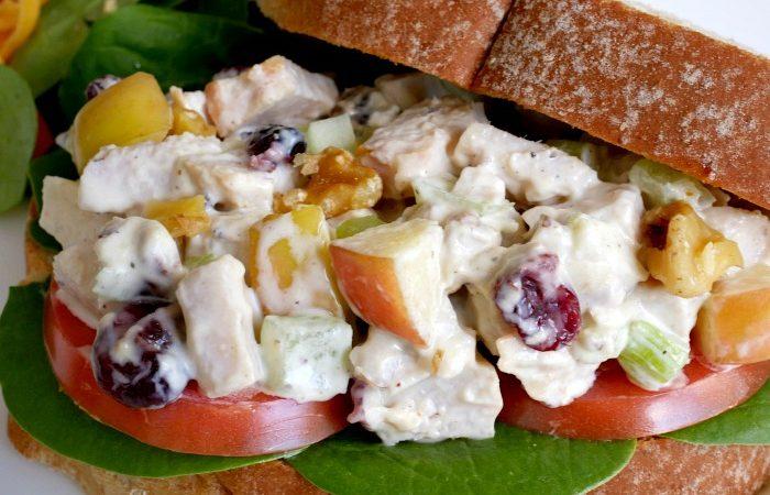 Simple Turkey Salad Sandwiches – Leftover Turkey Meal