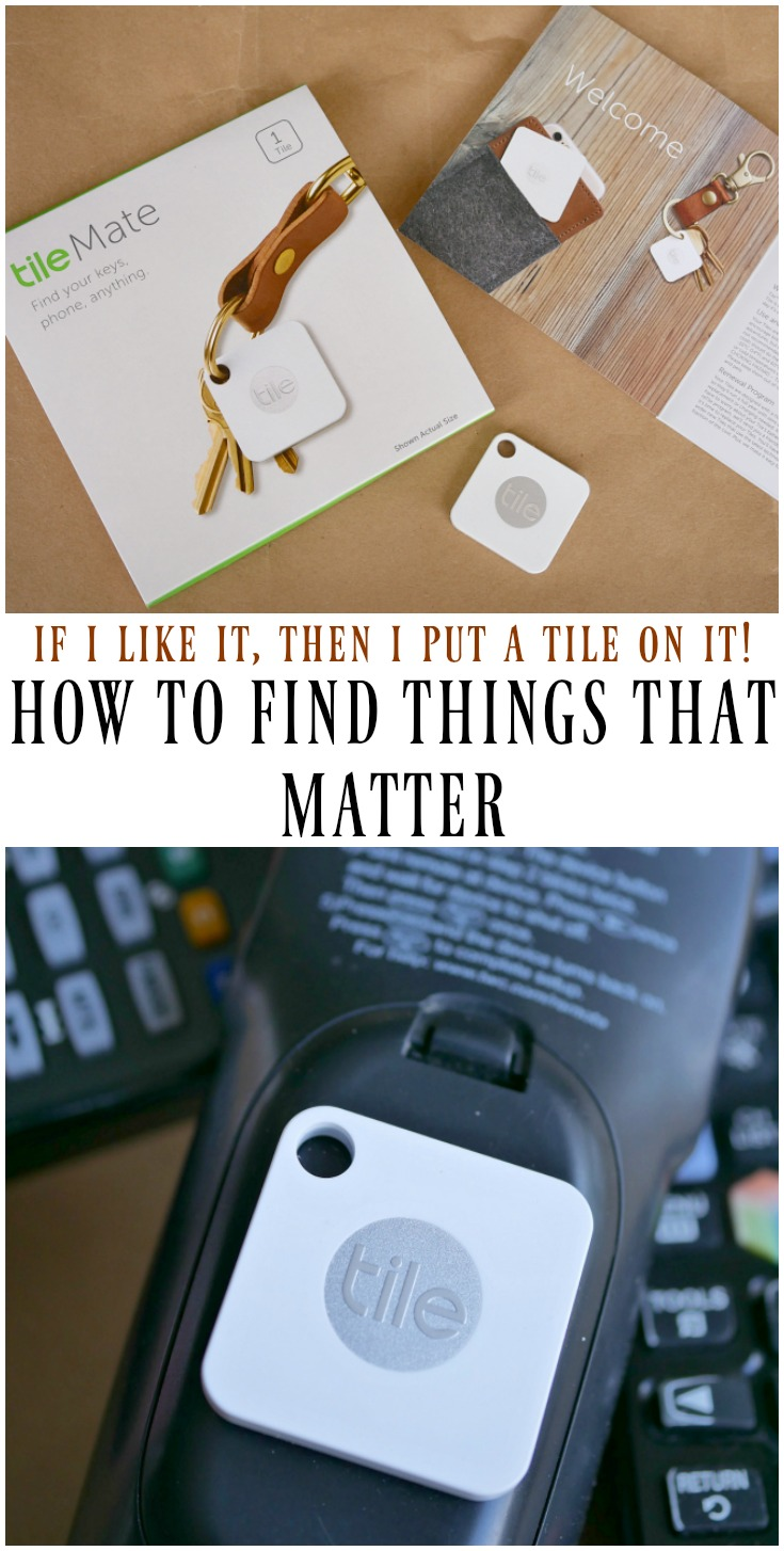 Tile - How to find things that matter with the Tile #ad #TileIt