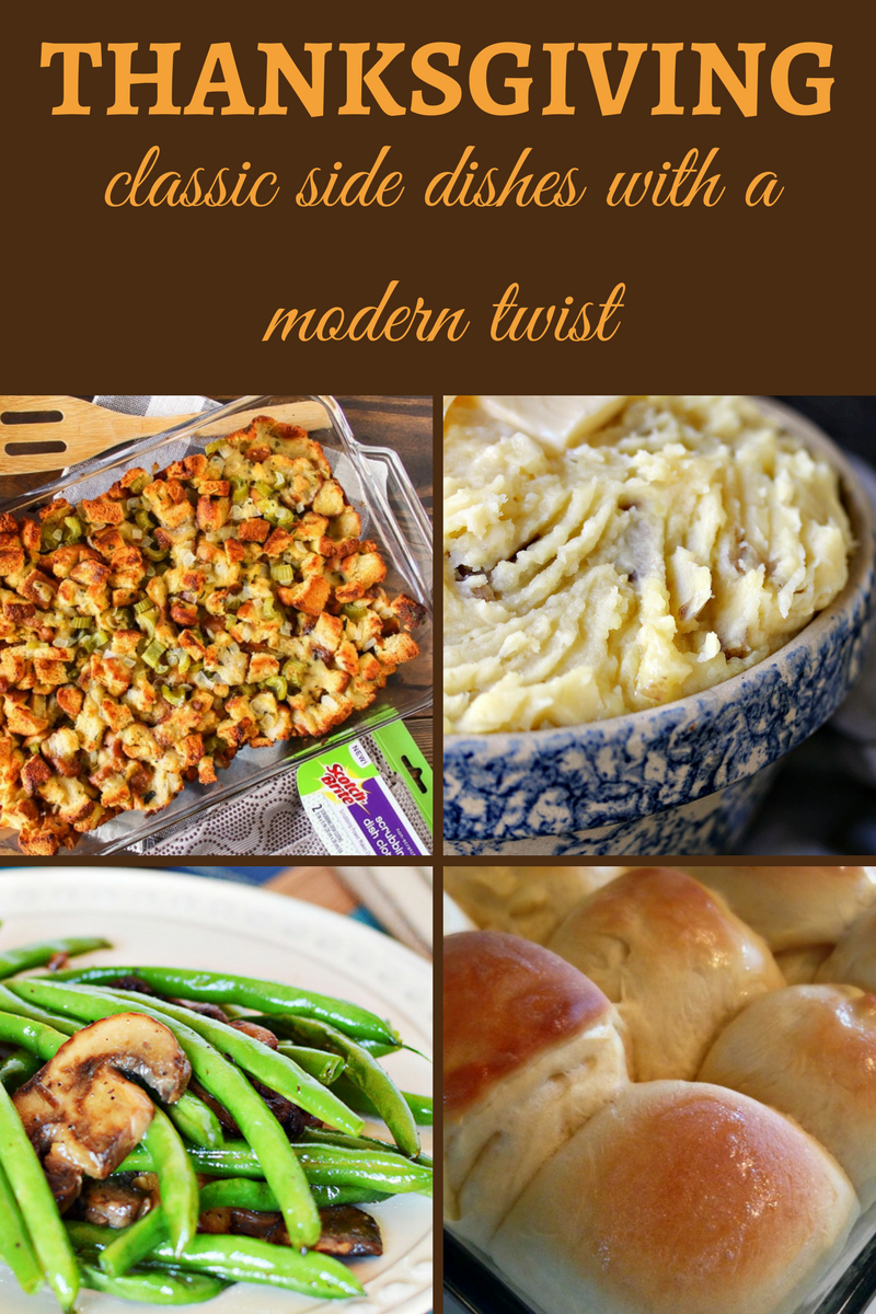 Classic Thanksgiving Side Dishes with a Modern Twist