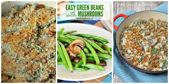 Thanksgiving Side Dishes - green beans