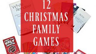 12 Christmas Family Games - Day 6 12 Days of Christmas Blog Hop