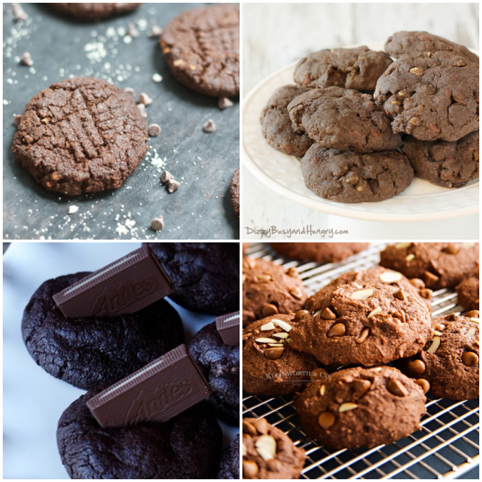 25+ Christmas Cookie recipes - chocolate