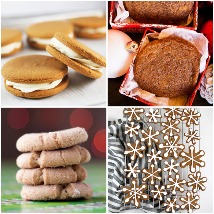 25+ Christmas Cookie Recipes - gingerbread recipes