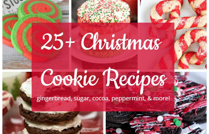 25+ Christmas Cookie Recipes – Merry Monday Link Party #184