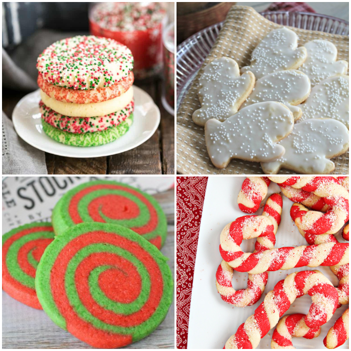 25+ Christmas Cookie Recipes - sugar cookie recipes