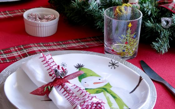 Casual Everyday Christmas Tablescape – Day 10 12 Days of Christmas Blog Hop