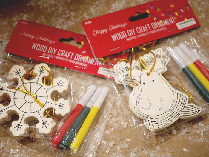 Easy reindeer ornaments