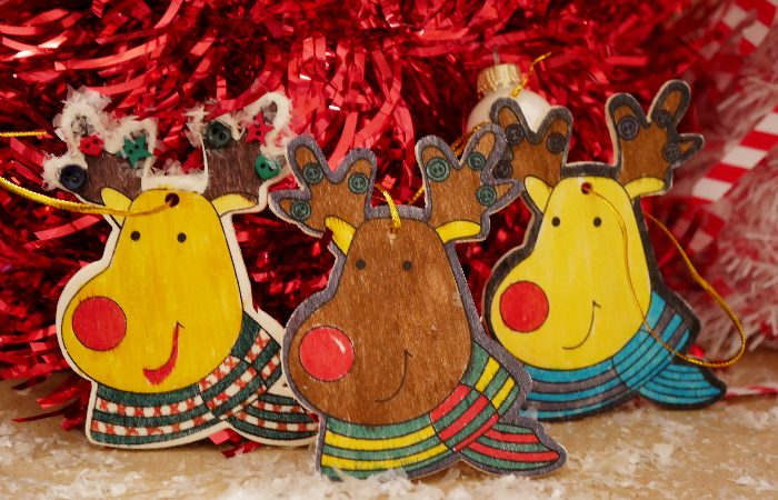 Easy Reindeer Ornaments – 99 Cents Only Kid Craft Kits