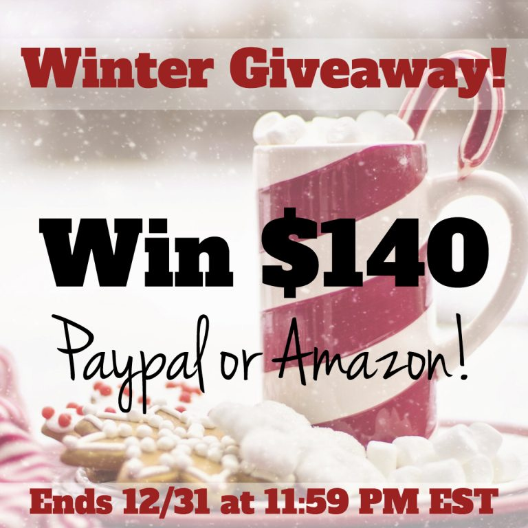 $140 Winter Giveaway!