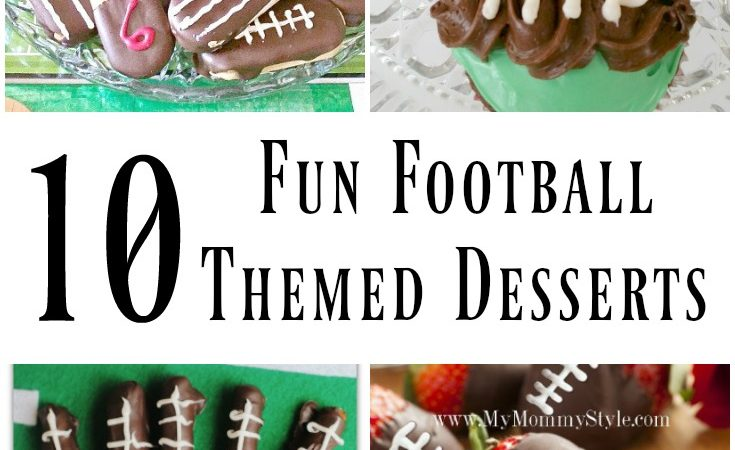 10 Football Themed Game Day Desserts