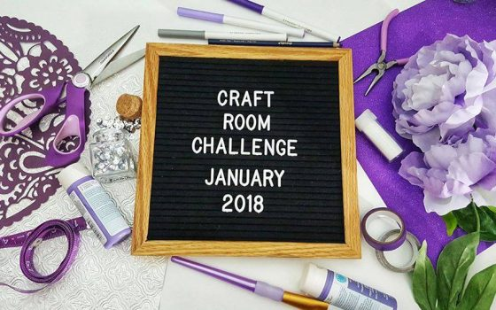 Craft Room Challenge – The Mess and Organization Goals