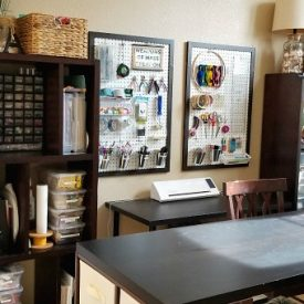 Tropical Craft Room Reveal! – Week 5 of the Craft Room Challenge