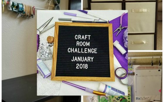 Craft Room Challenge Week 2 – Week 1 Results and Building!
