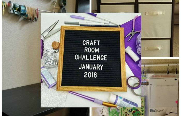 Craft Room Challenge Week 2 – Week 1 Results and Building!