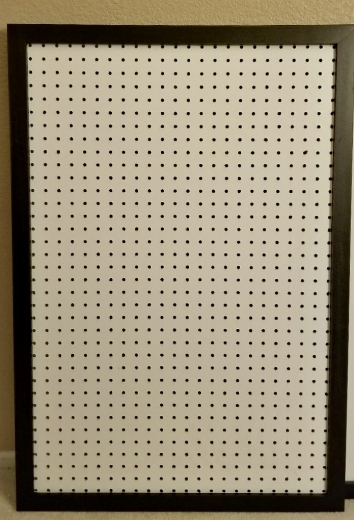 Framed Peg Board