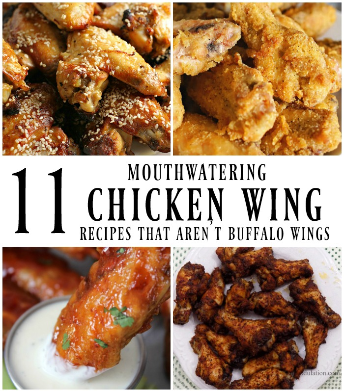 Mouthwatering Chicken Wing Recipes - Merry Monday Link ...