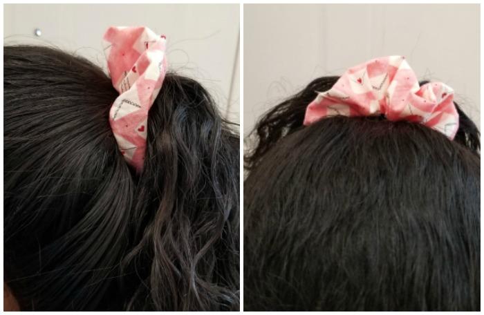 scrunchie in Bree's hair