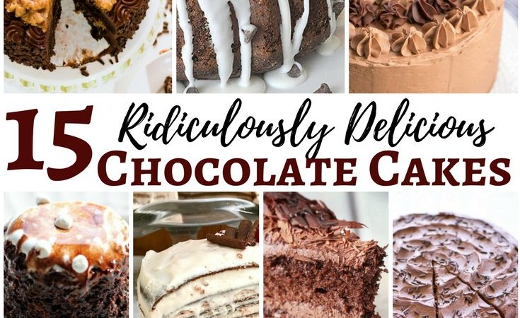 15 ridiculously delicious chocolate cake recipes slider