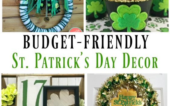 10 Budget-Friendly DIY St. Patrick's Day Decor – Merry Monday Link Party #193
