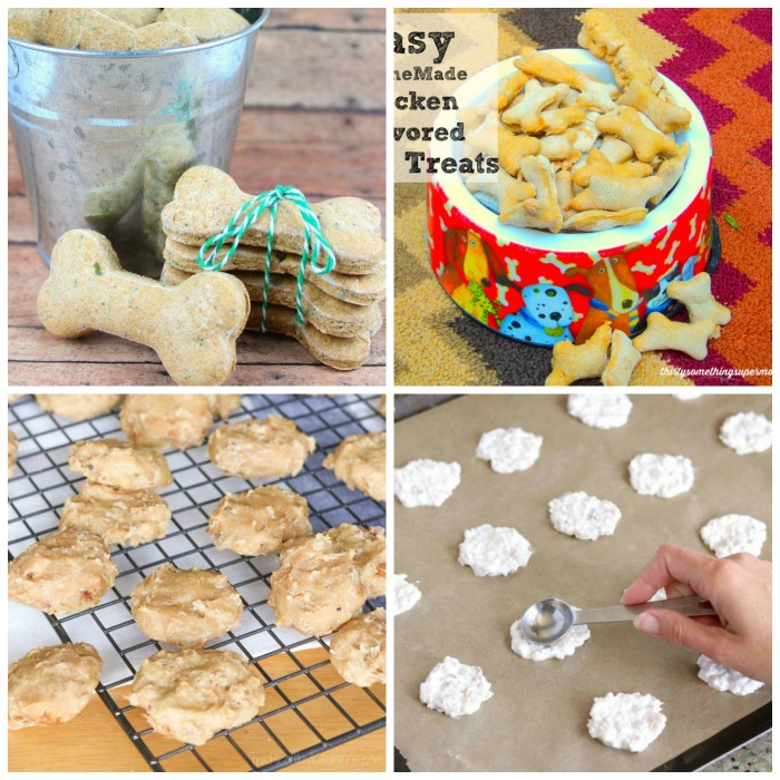 parsley chicken dog biscuit, chicken flavored dog treats, 4-ingredient chicken biscuit recipes, 2-ingredient frozen treats