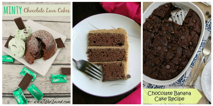 Ridiculously delicious chocolate cake recipes - minty chocolate cake, Devil's food cake, and chocolate banana