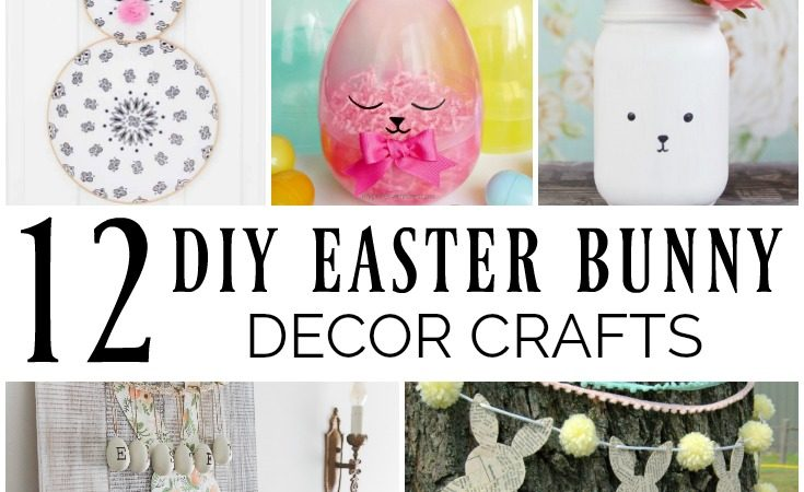 12 DIY Easter Bunny Decor Crafts slider
