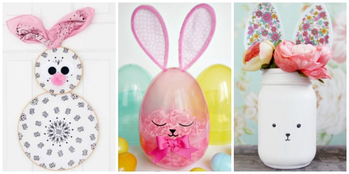 DIY Easter Bunny Decor Crafts