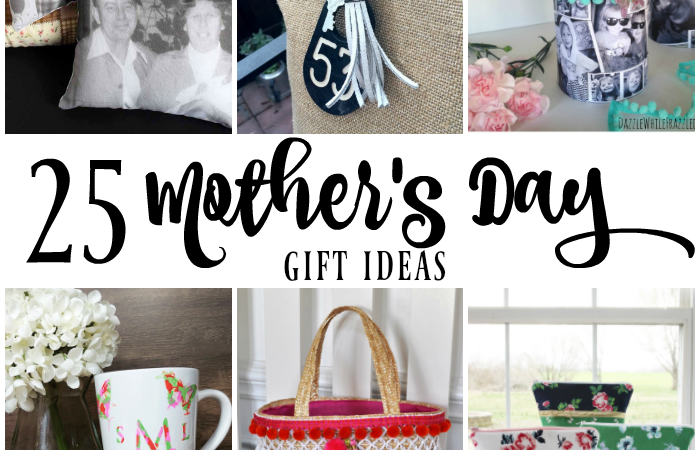 25 DIY Mother's Day Gift Ideas – Merry Monday Link Party #199