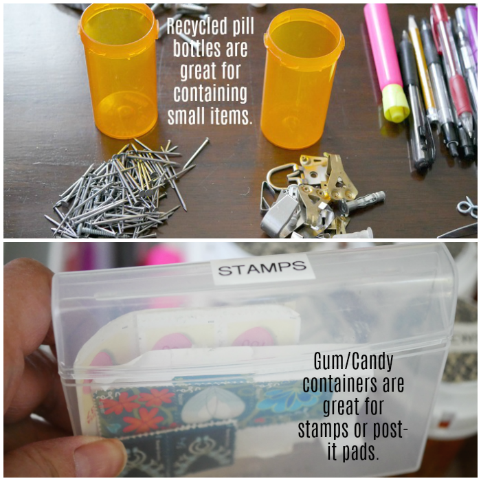 5-step junk drawer organization containers