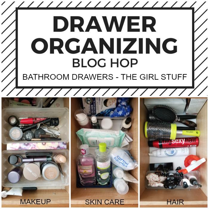 Bathroom Drawer Organization - The Girl Stuff