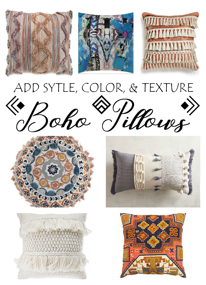 Shop Therapy Friday - Boho Pillows